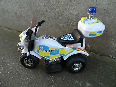 Chad Valley Ride On Police Bike 6v Age 2+ Years • 15.99£