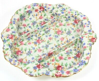 $ CDN164.09 • Buy Royal Winton Old Cottage Chintz Marina Compartment Dish Circa 1950