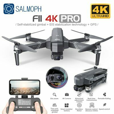 AU687.99 • Buy SJRC F11 PRO 4K Drone With Wifi FPV 4K HD Camera Two-axis Anti-shake Gimbal