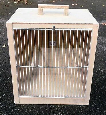 £19 • Buy Bird Carry Box  Carrying Cage 12.5  X 14  X 10  (White Fronts)