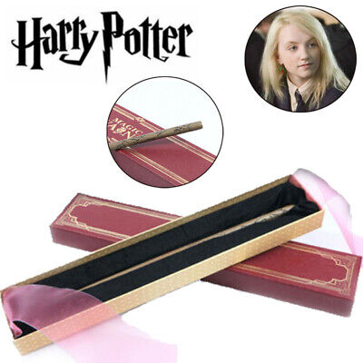 Harry Potter Magic Wand Luna Lovegood Cosplay Stick Metal Core Collect Toys Gift • 7.99£