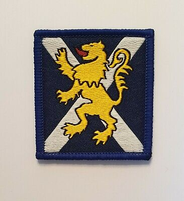 £2.50 • Buy British Army Military Badge Cloth Formation Signs Royal Regiment Of Scotland