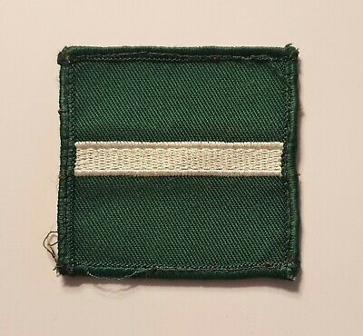 £2.50 • Buy British Army Military Badge Cloth Formation Signs Green Howards TRF Patch