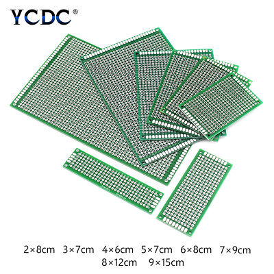 £1.90 • Buy PCB Prototyping Printed Circuit Board Single/Double Sides Tinned Breadboard C95