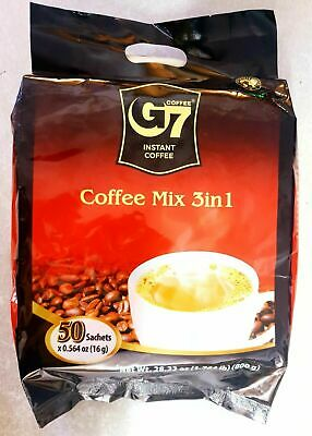 AU22.95 • Buy Trung Nguyen G7 Instant Coffee 3 In 1 Coffeemix 50 Sachets X 16g **EXPORT VIET**