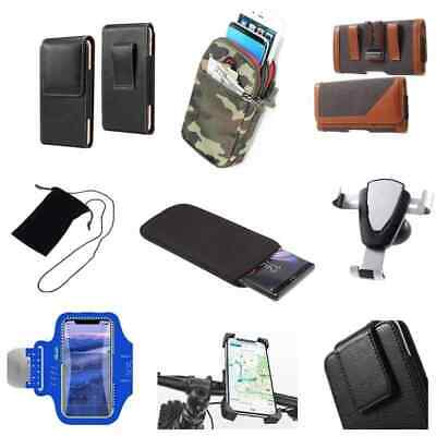 £10.81 • Buy Accessories For HTC Desire 200: Case Belt Clip Holster Armband Sleeve Mount H...