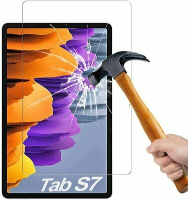 £3.85 • Buy For Samsung Galaxy Tab S7 Tempered Glass Screen Protector SM-T870 SM-T875 11.0