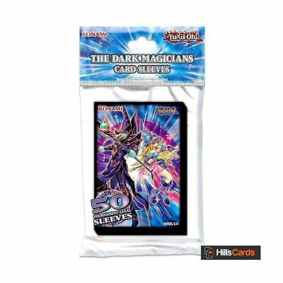 YuGiOh The Dark Magicians Card Sleeves Trading Card Deck Protectors Official TCG • 4.95£