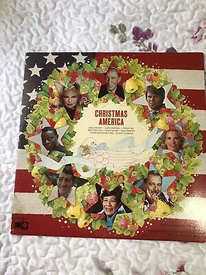 Christmas America A Musical Souvenir Of Christmas In The United States Vinyl LP • 7.17£