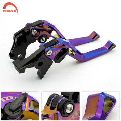 $34.40 • Buy CNC Plating Brake Clutch Levers For ZX6R/ZX636R/ZX6RR 2000-2004 ZX10R 2004-2005
