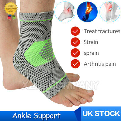 Sports Ankle Support Strap Compression Wrap Bandage Brace Neoprene Sports Foot • 3.99£