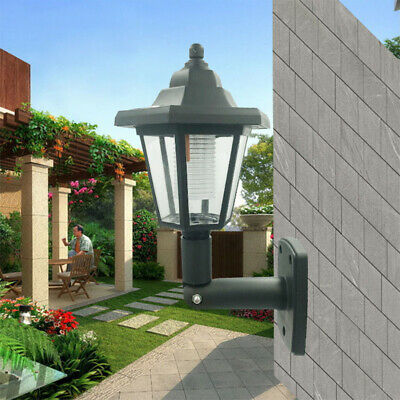 2X LED Solar Powered PIR Motion Sensor Wall Lights Outdoor Garden Security Lamp • 11.99£