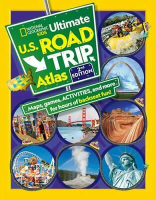 National Geographic Kids Ultimate U. S. Road Trip Atlas, 2nd Edition • 12.35£