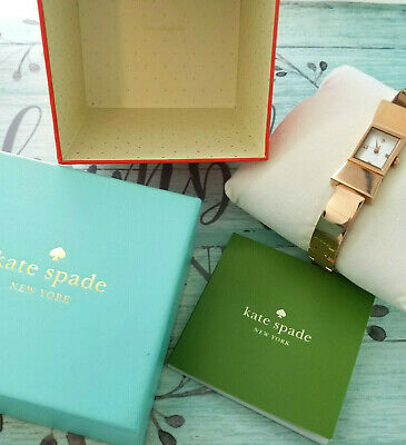 $ CDN63.78 • Buy Kate Spade Watch In A New York Minute Rose Gold Tone Bow Fits Up To 7.5  Wrist