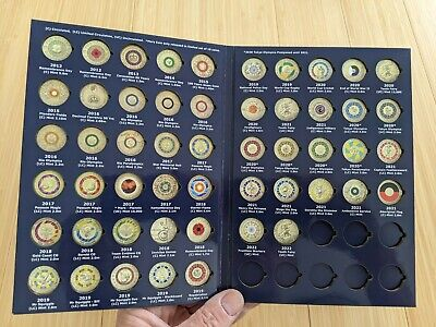 AU26.95 • Buy E2V1 Two Dollar $2 Coloured Coin Collectors Album Vol 1 (NO COINS INCLUDED)