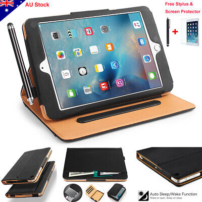 AU20.99 • Buy F IPad Mini 5 2 3 4 IPad Pro 10.5 Leather Wallet Case Magnetic Stand Smart Cover