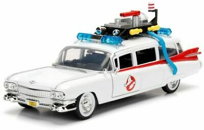 JADA TOYS 99731 CADILLAC ECTO 1 Diecast Road Car GHOSTBUSTERS Film 1:24th Scale • 64.46£
