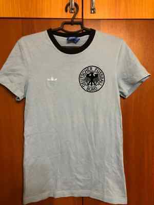 Retro Germany 1971 National Team Football Shirt Size S Adidas • 25£