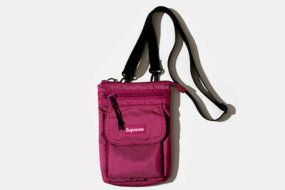 $ CDN182.23 • Buy SUPREME Shoulder Bag Nylon Pouch Purple Collection Shippingfree From Japan
