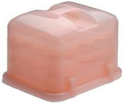 36-Cupcake Courier Carrier Holder Storage Container Petal Pink • 36.49£
