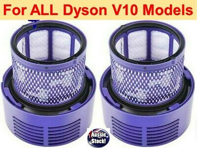 AU16.98 • Buy For DYSON V10 Filter Cyclone Animal Absolute Total Clean Washable | 1 Or 2 Packs
