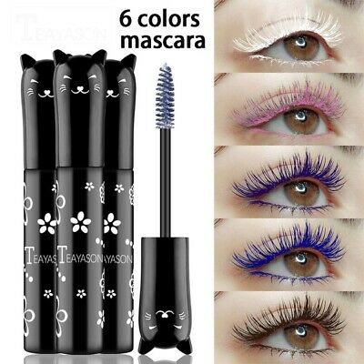 4D Silk Long Lasting Mascara Eye Catching Colours • 2.39£