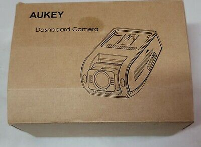 AU90.40 • Buy Aukey Dashboard Camera Recorder With Full HD 1080P, 6-Lane 170° Wide Angle Lens