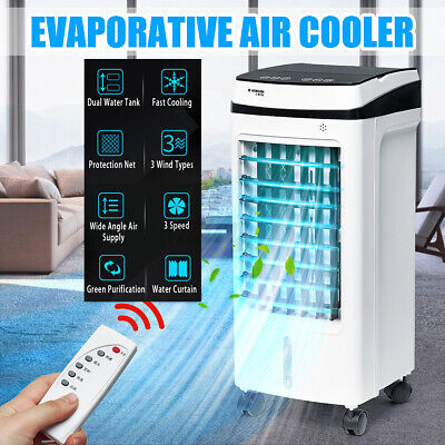 AU79.99 • Buy Portable Air Cooler Cooling Fan Conditioner Ice Purifier Humidifier Evaporative