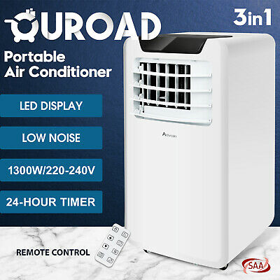 AU349.90 • Buy 3in1 Portable Air Conditioner 12000 BTU Cooling Mobile Fan Cooler Dehumidifier