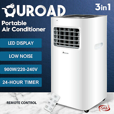 AU299.90 • Buy 3in1 Portable Air Conditioner 9000 BTU Cooling Mobile Fan Cooler Dehumidifier