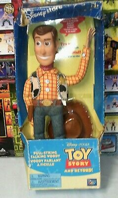 £68.06 • Buy Vintage Disney Store Toy Story Pull-String TALKING WOODY Think Way New Damage Bx