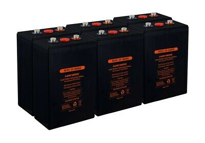 AU1900 • Buy Narada  5.7kWh 12V Off-Grid Deep Cycle Carbon Lead Battery Bank (480AH 2V Cells)