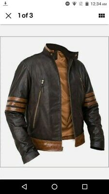X-men Origins Wolverine Jacket With Sleeves Attachable Detachable • 100£