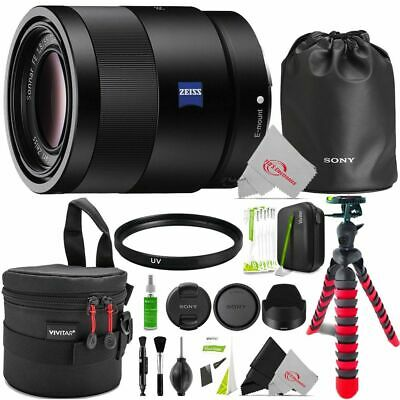 AU933.85 • Buy Sony Sonnar T* FE 55mm F/1.8 ZA Lens With Essential Accessory Kit