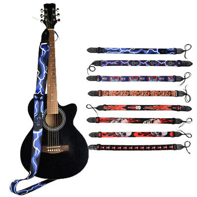 $ CDN9.54 • Buy Guitar Strap For Electric Acoustic Classical Guitar Bass PU Leather Head