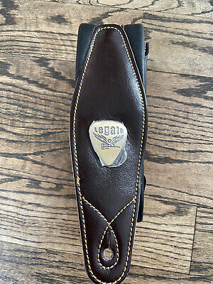 $ CDN31.63 • Buy Legato Leather Guitar Strap 3  Wide Padded Soft Real Leather - NEW! SHIPS FAST!