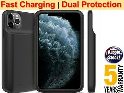 AU37.98 • Buy HIGH CAPACITY For IPhone 11 12 Mini Pro Max X XS Battery Case Power Bank Charger