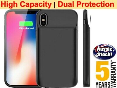 AU27.98 • Buy NEW Portable Power Bank Pack Battery Charger Case For IPhone X XR 11 12 Pro Max