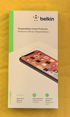 AU17.58 • Buy Belkin Apple IPhone 11 Tempered Glass Privacy Screen Protector