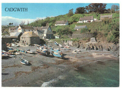 £3.49 • Buy Cadgwith Cove, The Lizard Cornwall England Rare Picture Postcard Posted 05.08.94