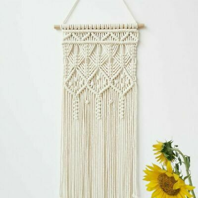 $21.99 • Buy Macrame Woven Wall Hanging Tapestry Backdrop Curtain Art Home Decoration Decor