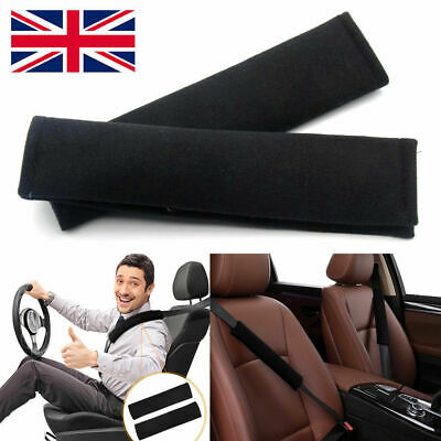 UK Car Seat Belt Cover Pads Car Safety Cushion Covers Strap Pad For Adults Kids • 3.39£