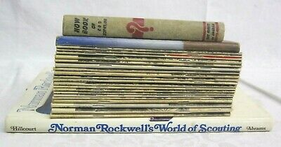 $ CDN46.25 • Buy Bear Cub Scout Book Norman Rockwell's World Of Scouting Art Book Lot Of 23