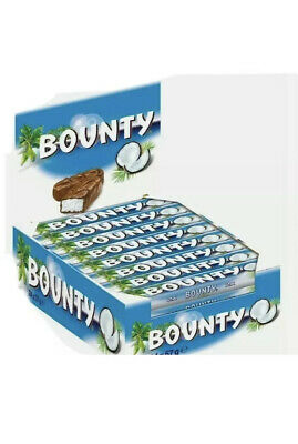 BOUNTY MILK Blue CHOCOLATE 57g X 12 Bars Free Delivery Cheapest Case Box. • 9.99£