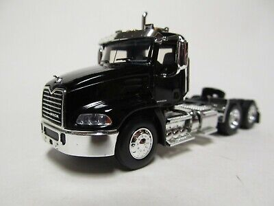 $45 • Buy First Gear / Dcp 1/64 Scale  Mack Pinnacle Day Cab, Black, Black Frame
