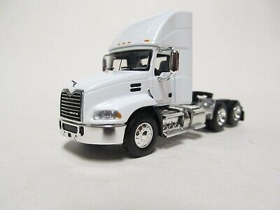 $45 • Buy First Gear / Dcp 1/64 Scale  Mack Pinnacle Day Cab, White, Black Frame
