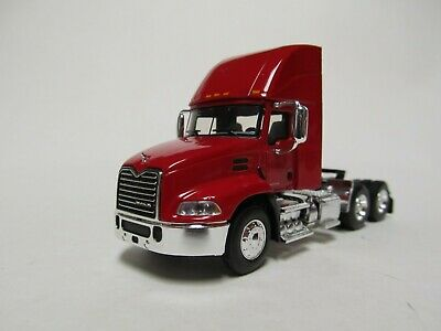 $45 • Buy First Gear / Dcp 1/64 Scale  Mack Pinnacle Day Cab, Red, Black Frame