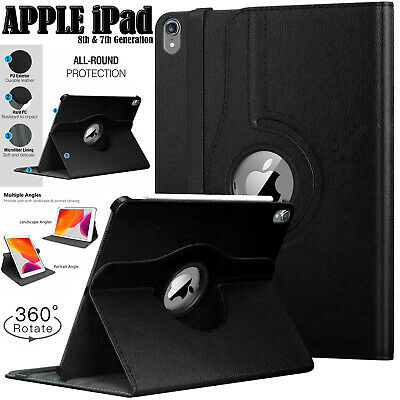 £5.72 • Buy Leather 360 Degree Rotating Case For Apple IPad Pro 9.7  Air 1/2 & 5th/6th (Gen)