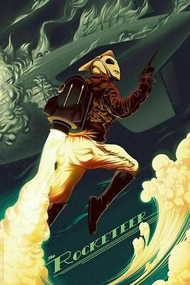 £89.82 • Buy The Rocketeer - By Kevin Tong - 24x36 Mondo Poster Print XX/325