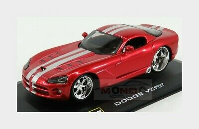 $17.78 • Buy Dodge Viper Srt-10 Coupe 2004 Red BURAGO 1:32 BU42011R Model